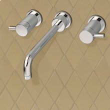 Serin Widespread Wall-Mount Faucet  American Standard - Polished Chrome