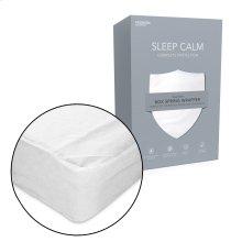 Sleep Calm Nonwoven Zippered Box Spring Encasement with Bed Bug Defense, Twin