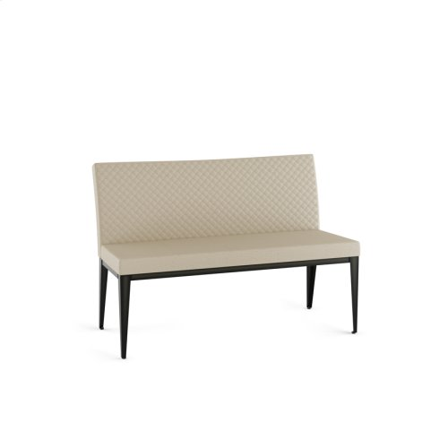 Pablo Bench With Quilted Fabric
