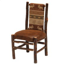 Hickory Upholstered Back Side Chair - Standard Fabric