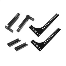 "Headboard ""L"" Bracket Kit for Foundation Bed Bases, Regular Full"