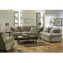 423803 Sofa in Metal (2754-28) Pillows in Driftwood (2852-19)