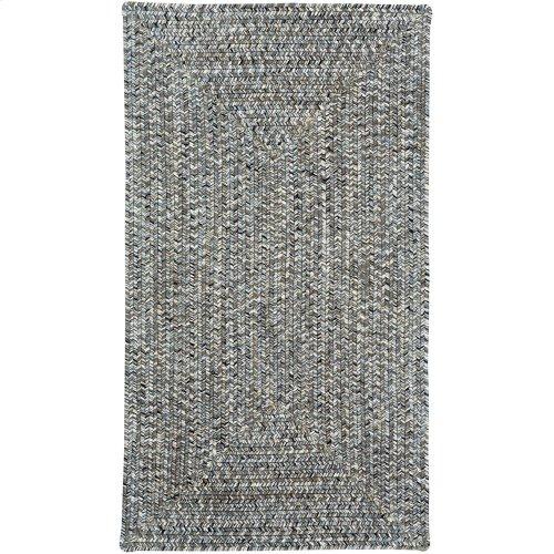 Sea Glass Smoky Quartz Braided Rugs (Custom)