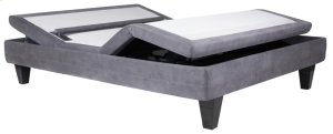 Serta - Motion Custom II - Adjustable Foundation - Twin XL