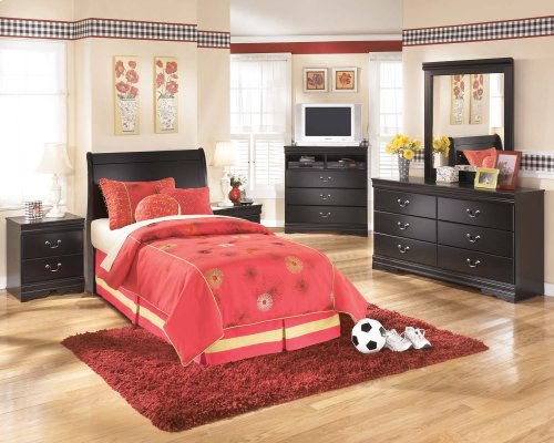 Ashley Louis Phillipe Style Twin Sleigh Bed