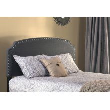 Lani Headboard - King - Dark Linen Grey