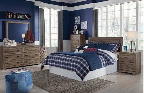 Javarin - Grayish Brown 2 Piece Bedroom Set