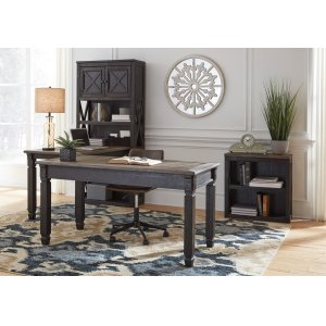 Ashley SIGNATURE DESIGN BY ASHLEYTyler Creek - Grayish Brown/black 3 Piece Home Office Set