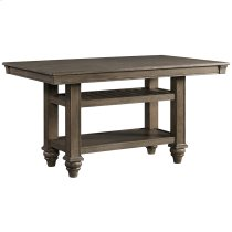 Balboa Park Counter Height Table w/Shelving Product Image