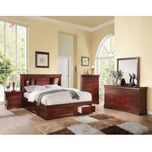LP III CHERRY CK BED W/STORAGE