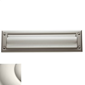 Polished Nickel Letter Box Plates