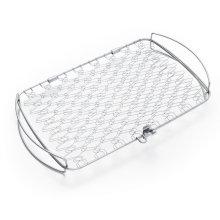 WEBER ORIGINAL - Large Stainless Steel Fish Basket