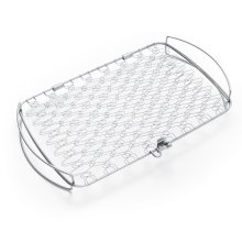 WEBER ORIGINAL - Large Stainless Steel Fish Basket