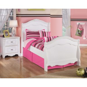 Ashley Furniture Exquisite - White 3 Piece Bed Set (Twin)