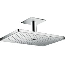 Chrome Overhead shower 460/300 3jet with ceiling connection