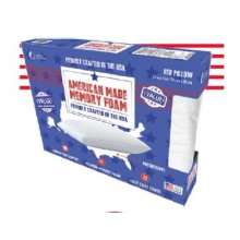 Sealy - Molded Memory Foam Bed Pillow - Pack of 6