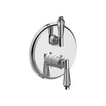 """7095hc-tm - 1/2"""" Thermostatic Trim With Volume Control in Polished Chrome"""