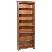 """GAC 84""""H x 30""""W McKenzie Alder Bookcase Product Image"""