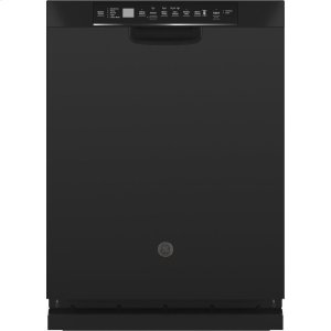 GE®Front Control with Stainless Steel Interior Dishwasher with Sanitize Cycle & Dry Boost