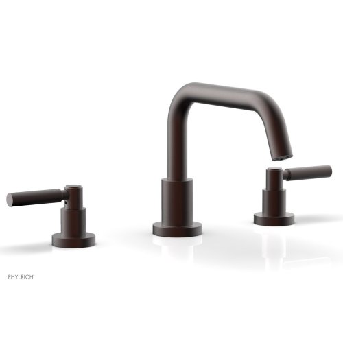 BASIC Deck Tub Set - Lever Handles D1132D - Weathered Copper
