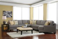 Chamberly 5 Pc LAF Sectional w/RAF Cuddler Product Image