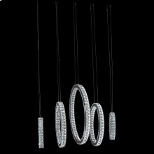 Solar Hoops LED Chandelier Large