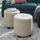Riley Drum Ottoman Product Image