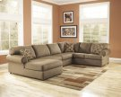 CLEARANCE!!! MOCHA SECTIONAL Product Image