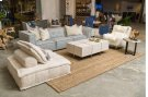 Element 3pc Sofa Ivory/Blue Product Image