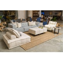 Element 3pc Sofa Ivory/Blue