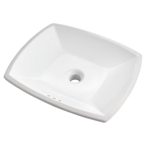 Edgemere Undercounter Bathroom Sink  American Standard - White