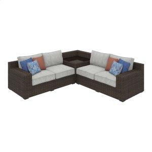 Ashley Furniture Alta Grande - Beige/brown 2 Piece Patio Set