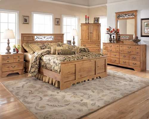 Bittersweet - Light Brown 5 Piece Bedroom Set