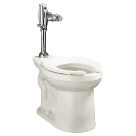 Right Width FloWise Elongated Flushometer Toilet - White
