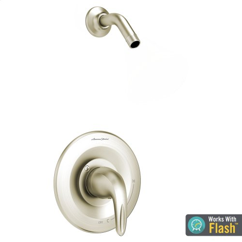 Reliant 3 Shower Only Trim with Pressure Balance Cartridge Less Showerhead  American Standard - Brushed Nickel