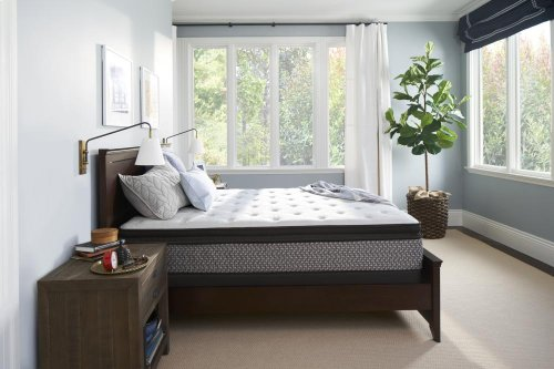 Sealy Response - Essentials Collection - Fritz - Plush - Euro Pillow Top - Twin