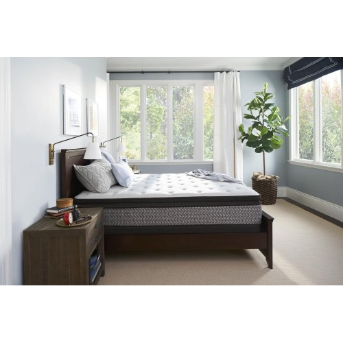 Sealy Response - Essentials Collection - Fritz - Plush - Euro Pillow Top - King