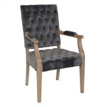 Rosalind Arm Chair Steel