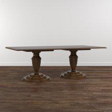 """Custom Dining 86"""" Turned Ped. Wood Table"""