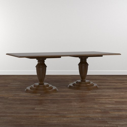 "Custom Dining 86"" Arts & Crafts Wood Table"