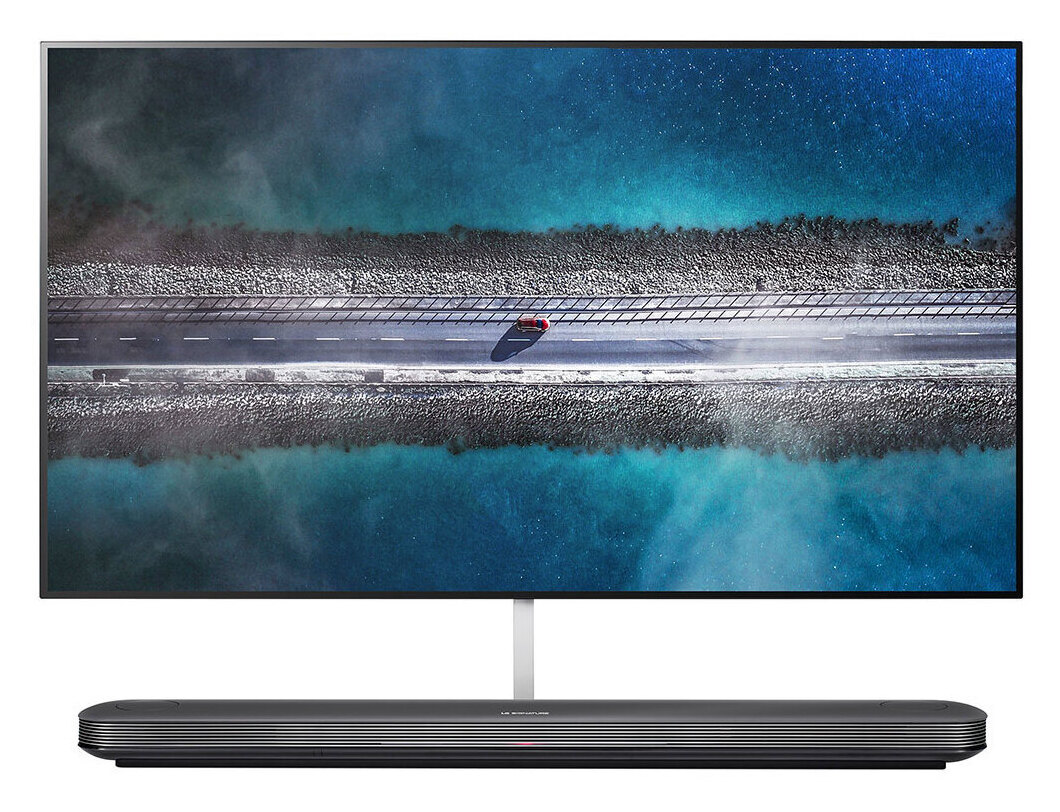 LG SIGNATURE W9 Wallpaper 77 inch Class 4K Smart OLED TV w/ AI ThinQ(R) (76.7