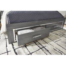 King Storage Footboard