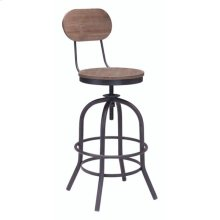 Twin Peaks Counter Chair Distressed Natural