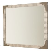 Upholstered Wall Mirror Amazon Tan Gator