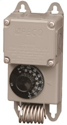 Line voltage controller 120v - 277v, NEMA 4X enclosure with remote temperature sensor. Product Image