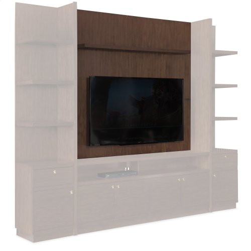 Home Entertainment Atelier Back Panel and Shelf