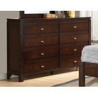 Cameron Rich Brown Eight-drawer Dresser Product Image