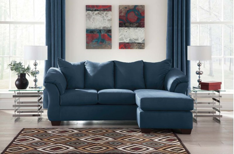 Ashley Furniture Blue Sofa 1150371 Ashley Furniture