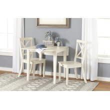 Everyday Classics Drop Leaf Table- Linen