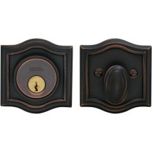 Arched Auxiliary Deadbolt Kit in (US10B Oil-rubbed Bronze, Lacquered)